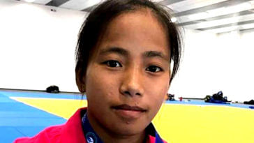 The hard-won silver medal, in the Youth Olympics, is truly a victory for Tababi. Image Credit: Meridian IAS Courses