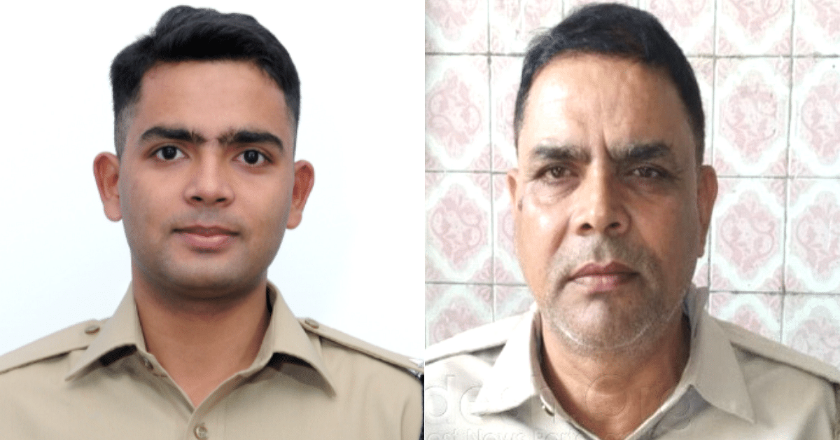 Heartwarming! Proud Constable Father Salutes His IPS Son, Says Work Comes First