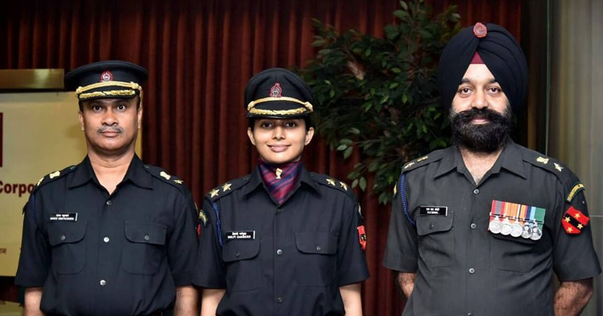 First Female Officer of Indian Territorial Army, Shilpy Gargmukh Is a True Inspiration