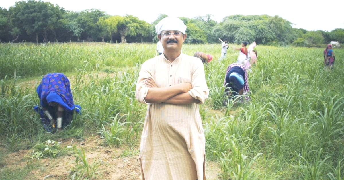 Here's How One Man's Unique Innovation is Transforming 40,000 Barren Acres