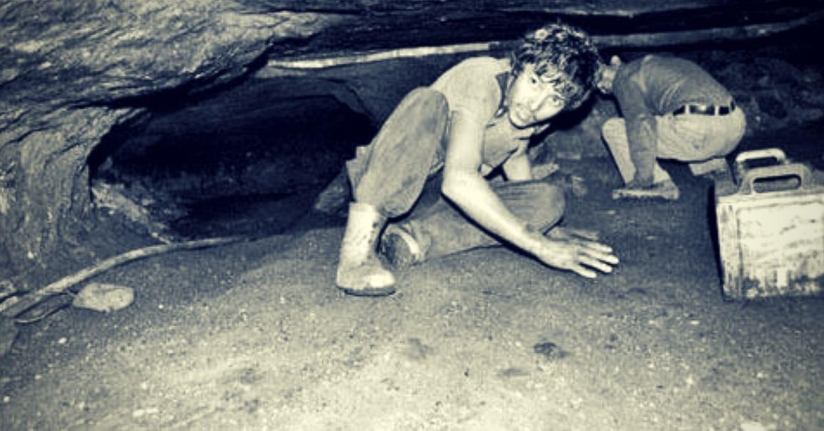 Rat-hole mining. (Source: Facebook/TNT Magazine)