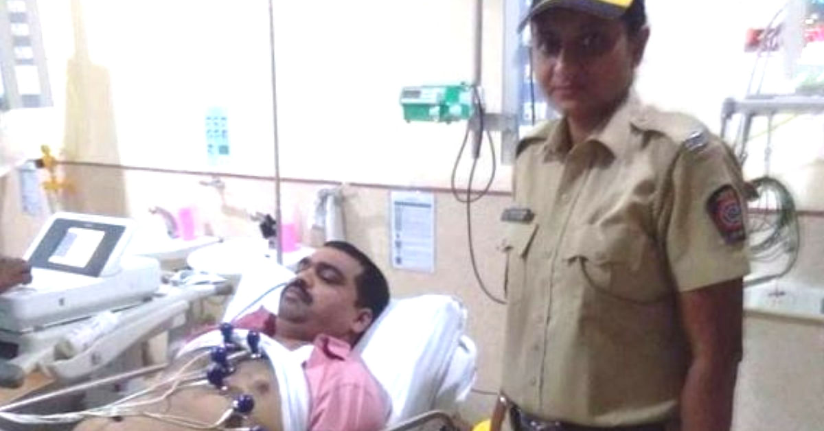 Collapsing On Pavement in Pain, Mumbai Cop Finds Saviour in Woman Constable!