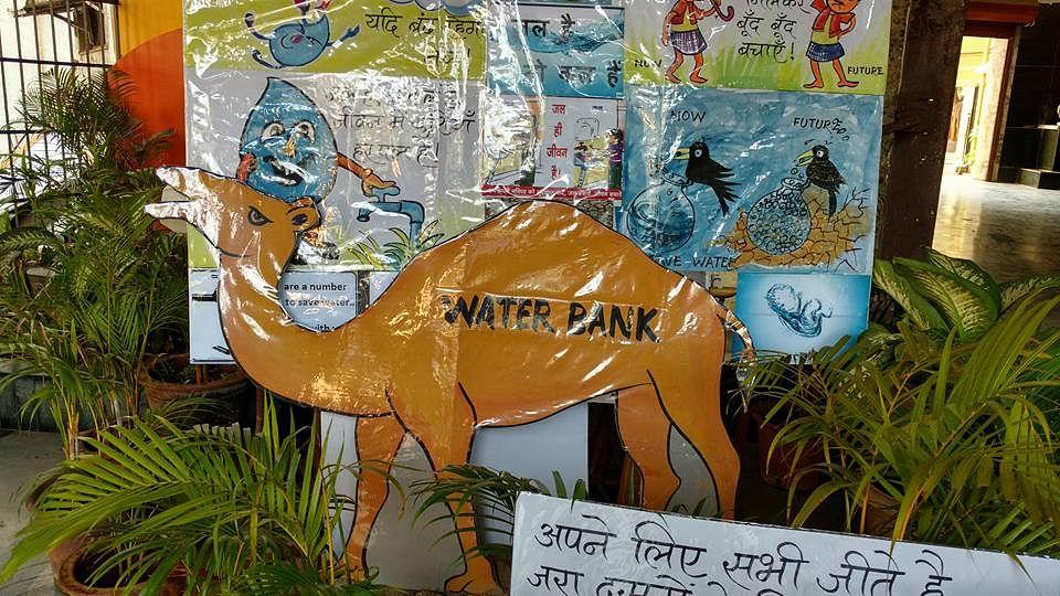 Mumbai school saves water bank