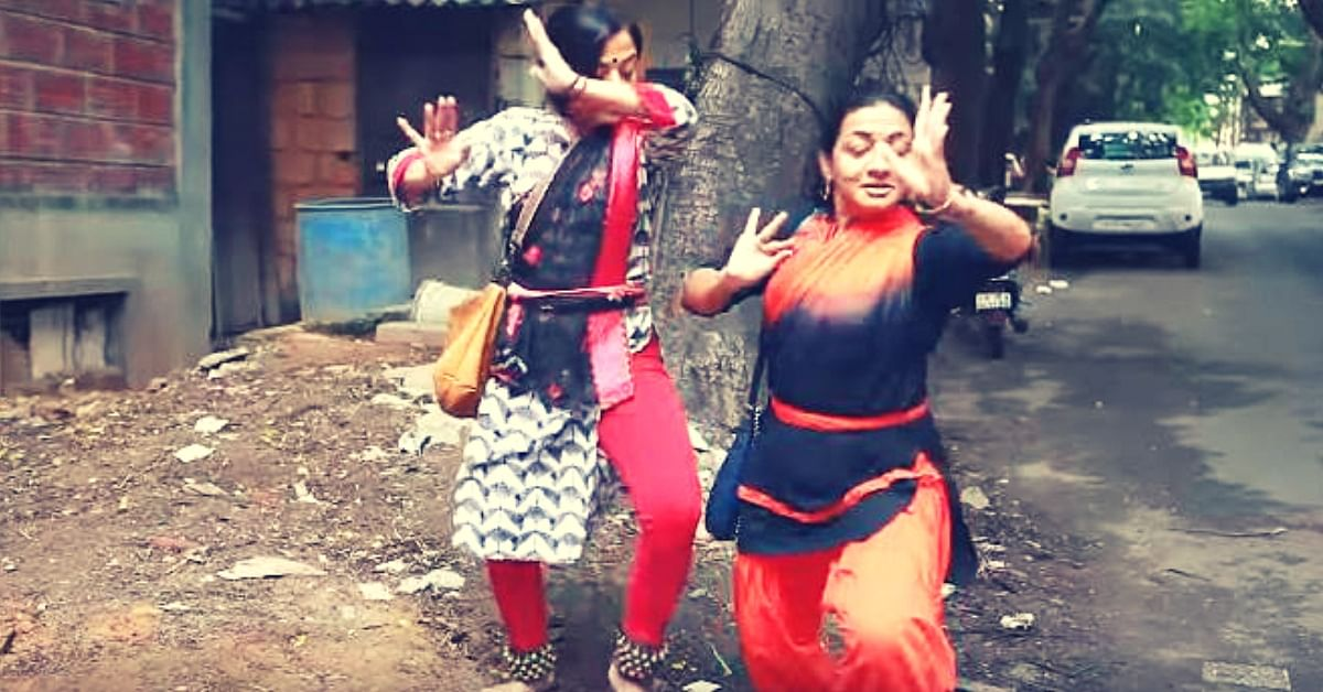 Remember The Viral 'Bharatnatyam on Footpath' Video? B'luru Takes It To the Next Level!