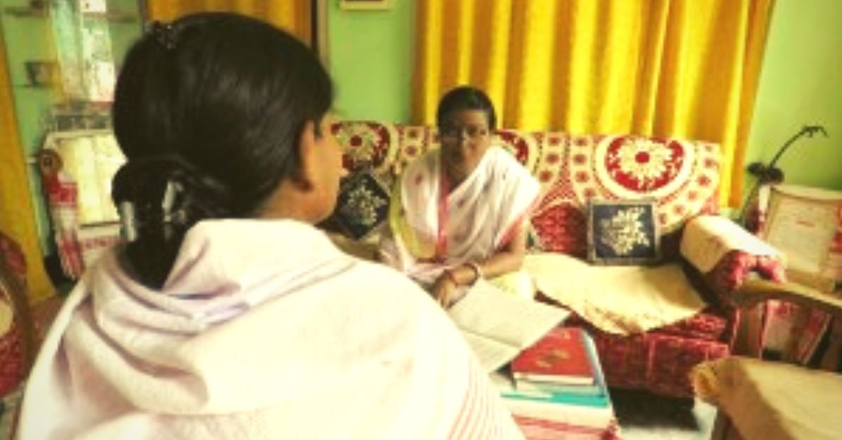 During a counselling session at a GMK centre. (Source: NEN)