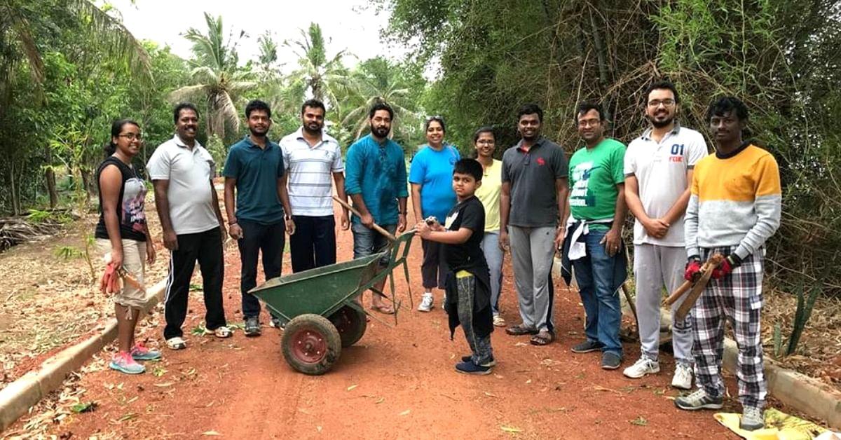 Citizens Turn Bengaluru's Jakkur Lake into Eco-Zone With These Herbs & Rare Trees!