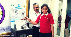 Mumbai students e-waste education poor kids