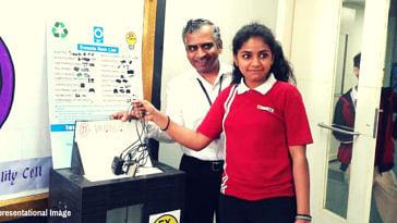 Mumbai students e-waste education poor kids