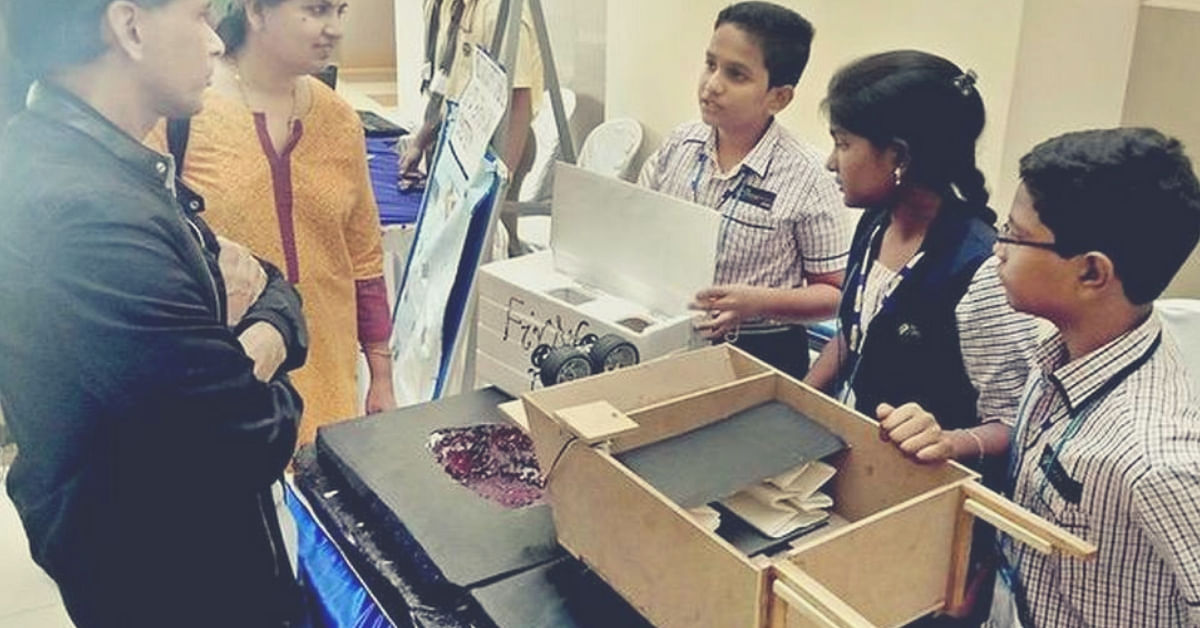 Andhra School Kids Build 'Pothole Warrior' That Repairs Roads Automatically, Win IIT Nod!