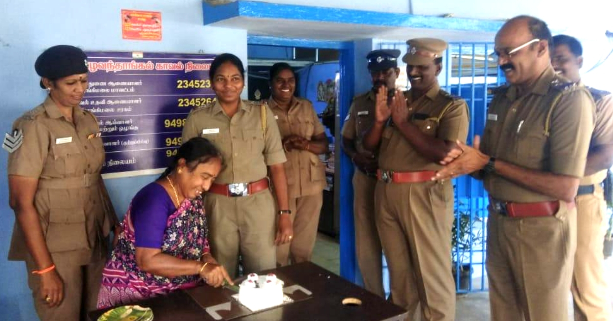 These Chennai Cops Gave an Abandoned 67-YO Woman an Unforgettable Birthday!