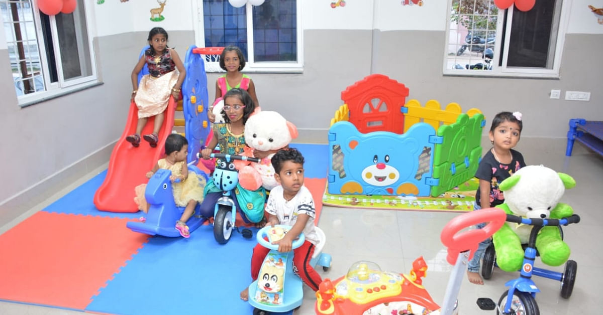 Telangana Police Station Puts the Needs of Women Staff First, Gets Its Own Crèche! (1)