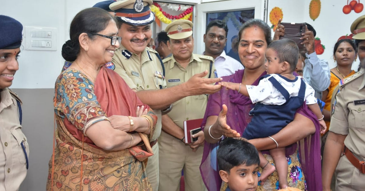 Telangana Police Station Puts the Needs of Women Staff First, Gets Its Own Crèche!