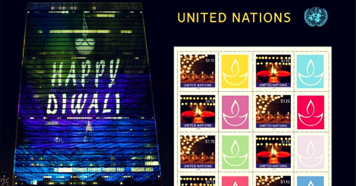 UN Commemorates Diwali With Unique Gesture, Releases Special Stamps You Can Buy!
