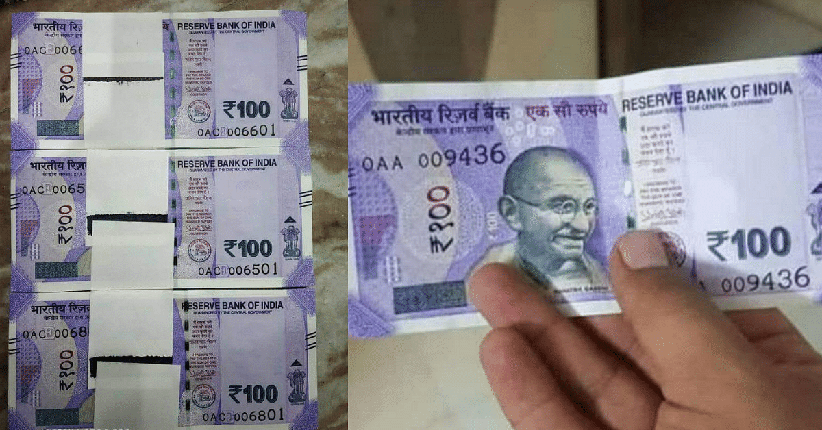 Got a New Rs 100 Note In Your Wallet? Check If Its Real of Fake!