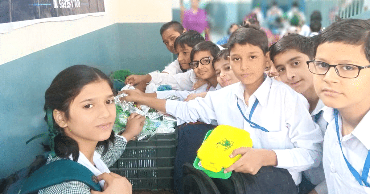 Kids of This Ludhiana School Share Their Tiffin Boxes With Over 3000 Needy People!