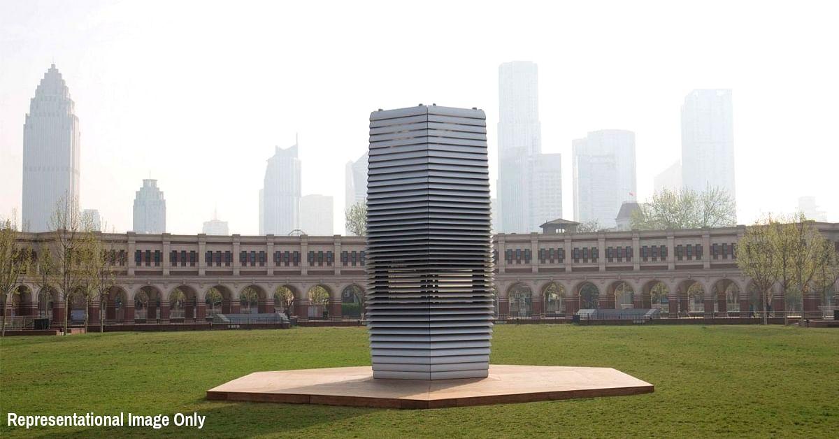 delhi air pollution solution kurin smog tower news