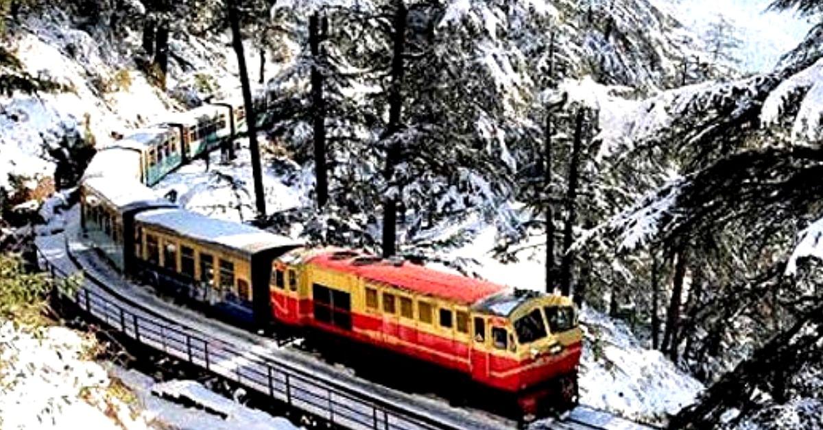 Starry Nights & Snowy Peaks: Check out Pics of Kalka-Shimla Rail's New Vistadome Coach!