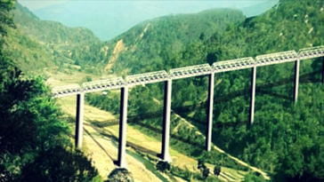 45 tunnels & Twice the height of Qutub Minar_ Manipur To Have World's Tallest Railway Bridge!