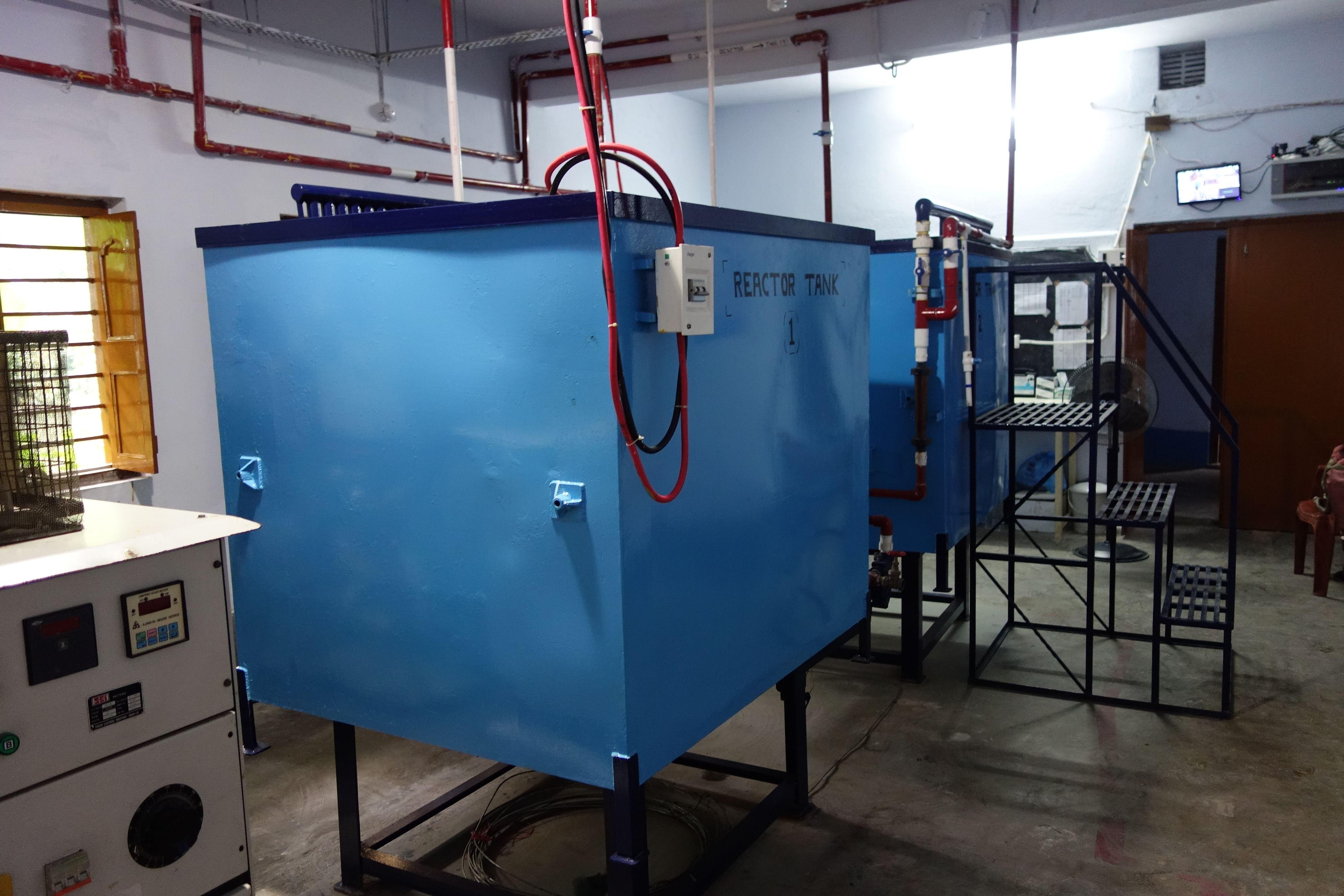 Arsenic removal Reactor Tank.