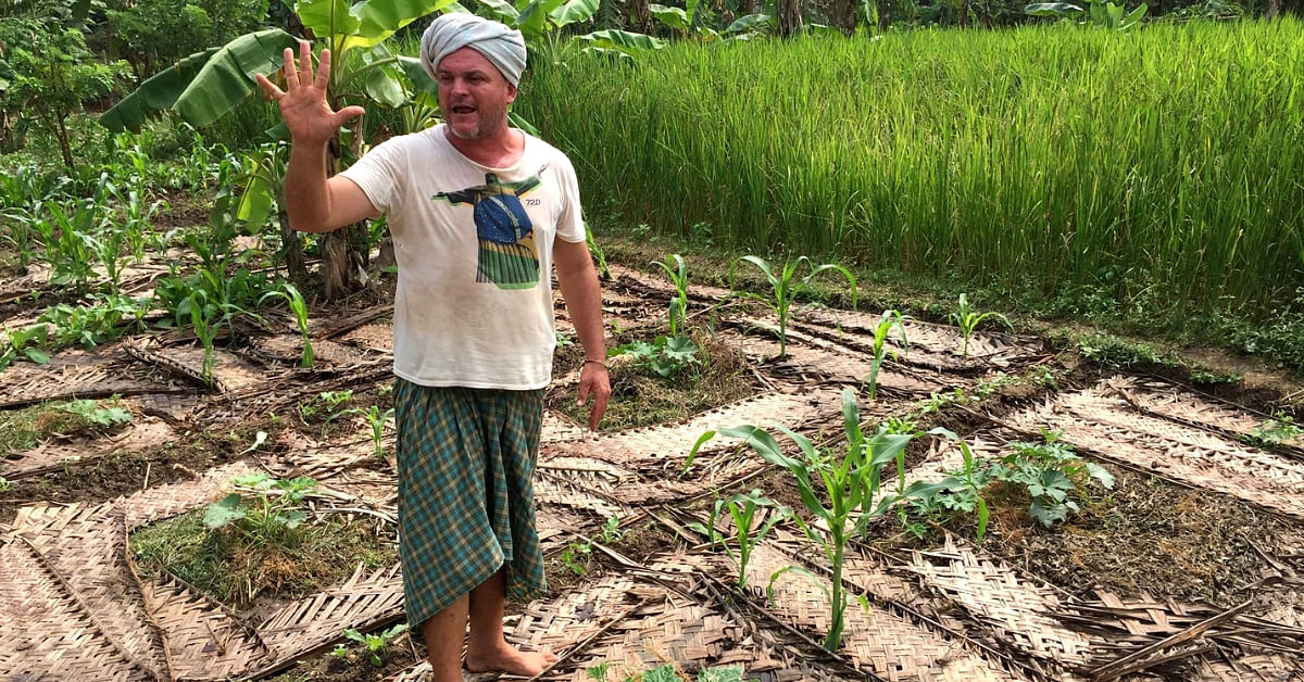 At 19, He Moved From UK to Puducherry. Today, His Organic Farm Is Smashing Stereotypes!