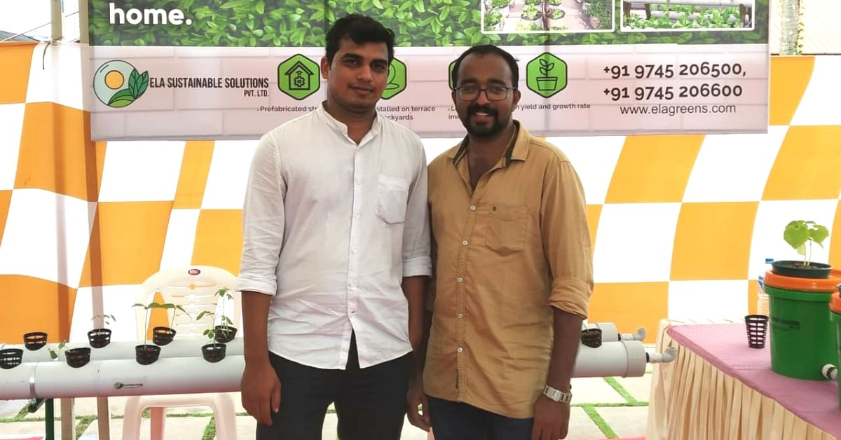 Kerala Engineer Duo Set Up Smart Gardens That Let You Grow Veggies Inside Your Home!