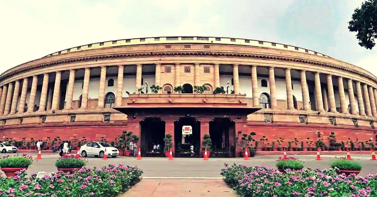 Parliament of India. (Source: Twitter/All India Radio)