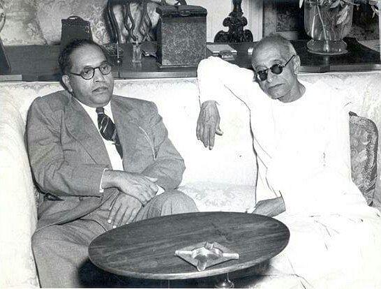 Rajaji with BR Ambedkar (Source: Twitter)