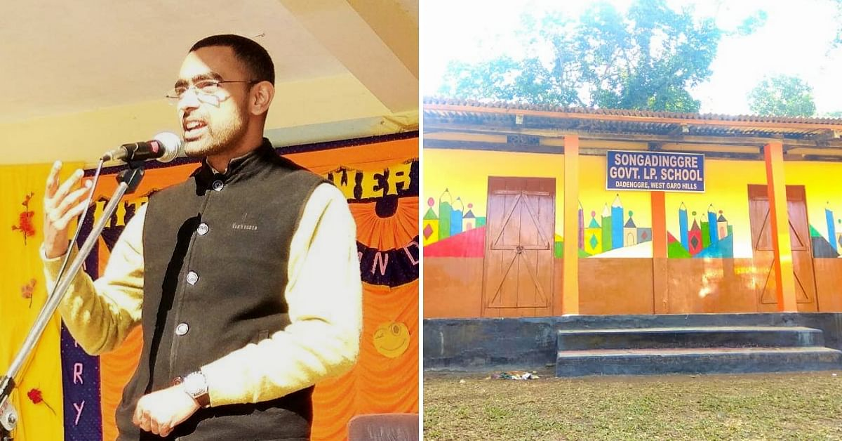Meghalaya IAS Officer Wins Hearts, Donates 2 Months' Salary To Renovate School!