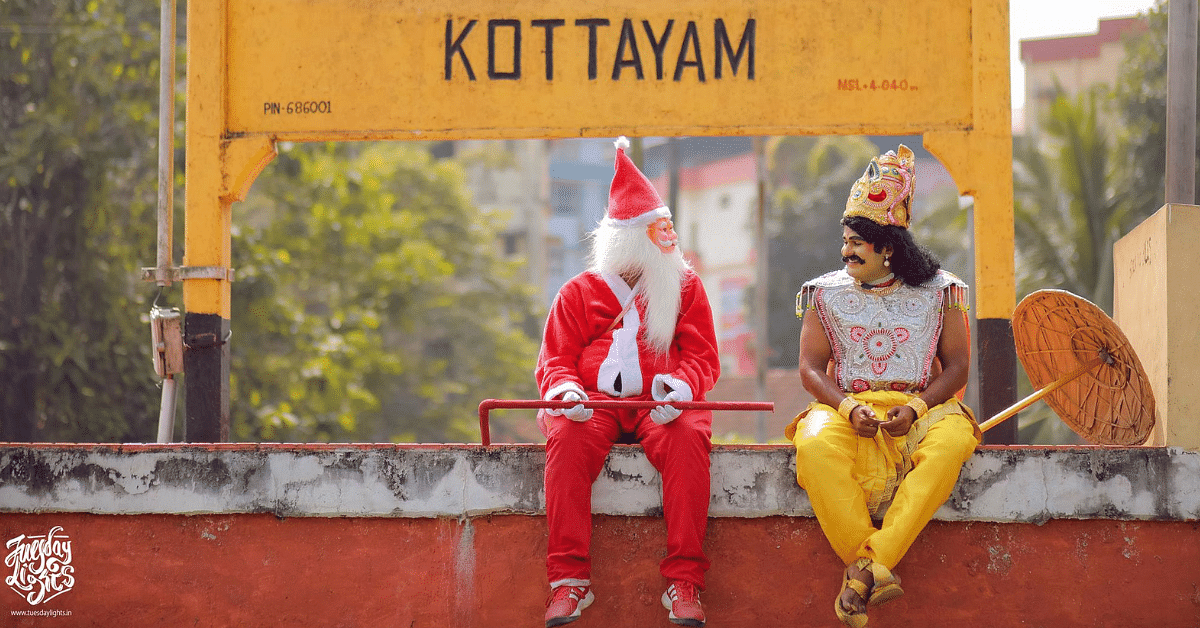 When Maveli Met Santa: Kerala Couple's Viral Video Wins Over Social Media!