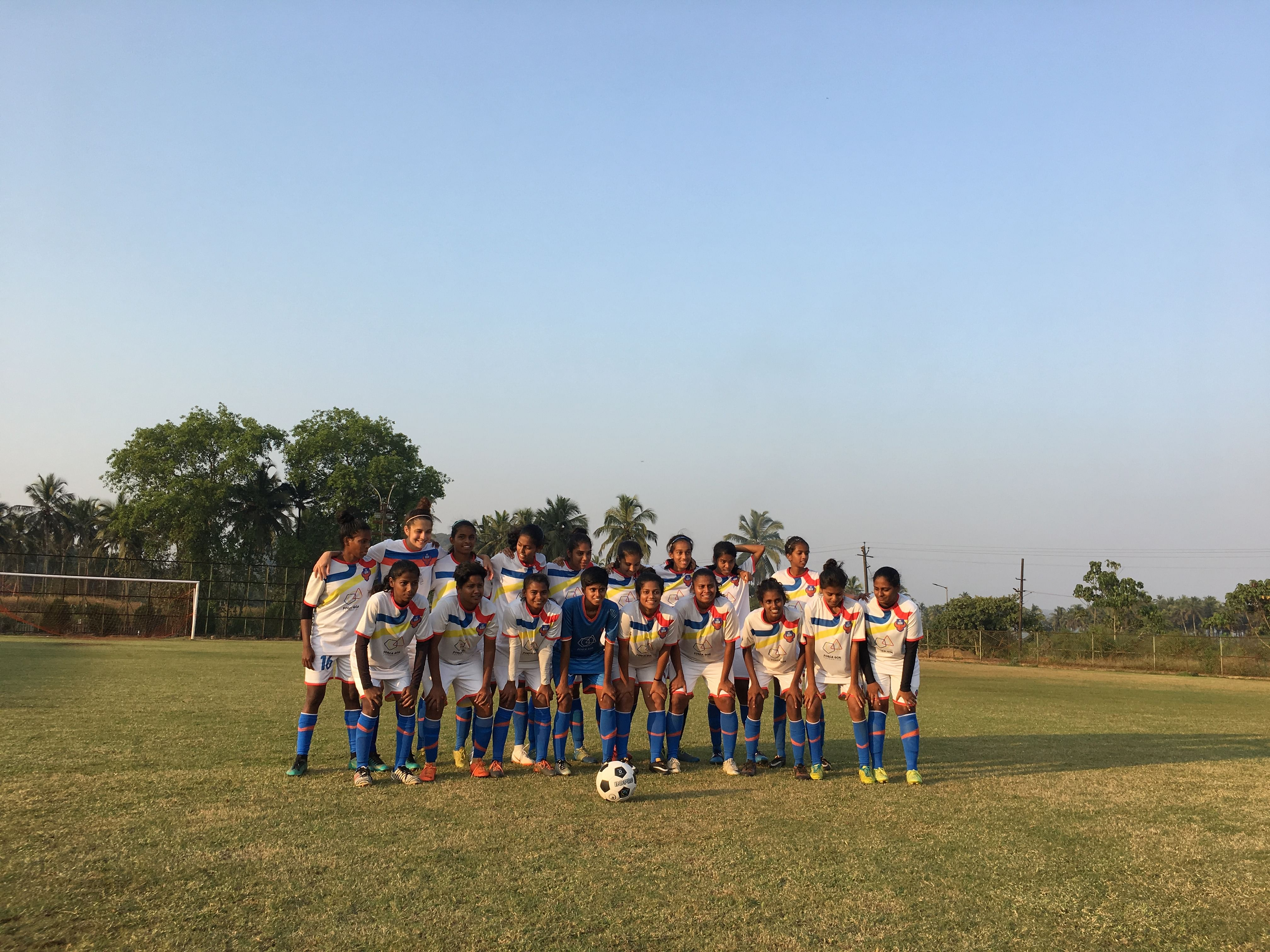FC Goa Women's Senior Team has also issued their support to this initiative.