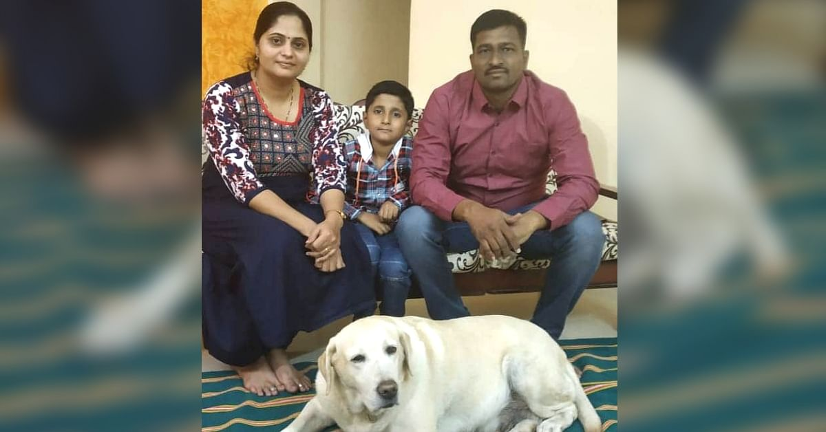 Pune Cop Family Gives Hero Police Dog the Retirement She Deserves!