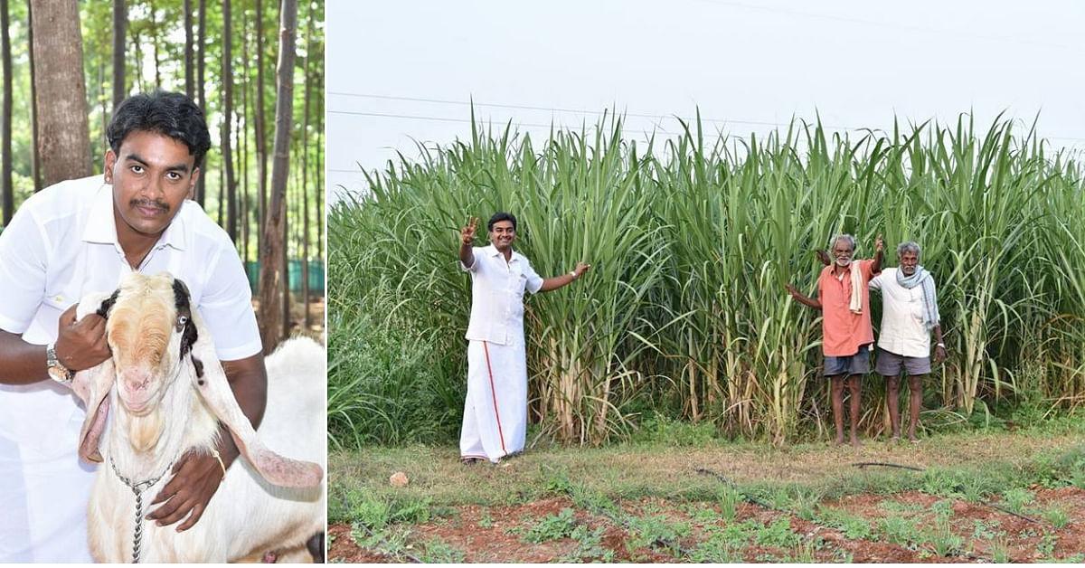 25-YO Karnataka Man Goes From MBA to Organic Farmer, Earns Rs 7-10 Lakh Yearly!