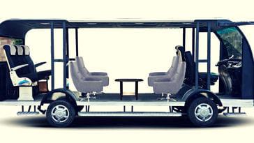 Driver-less, solar-powered bus (Source: LPU)