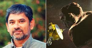Dr Shyam Bhaskaran (Left). (Source: NASA/Twitter)