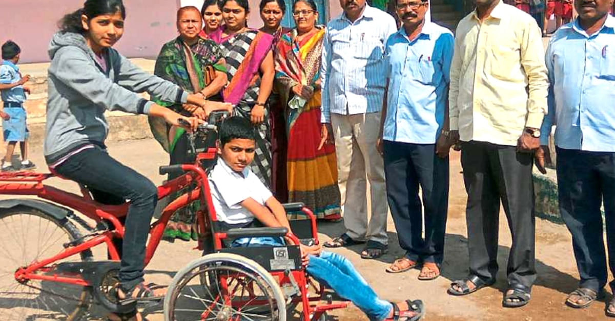 This 16 YO Girl's Brilliant Invention For Her Disabled Brother Will Make Your Day!