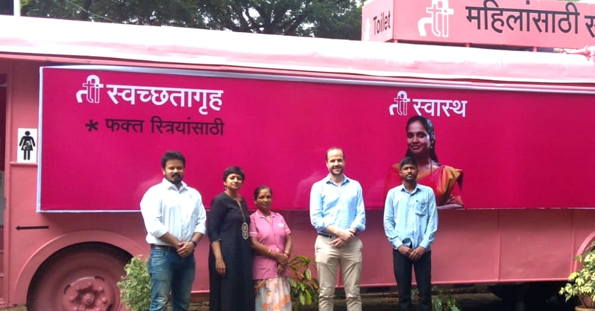 Meet the Pune Duo Turning Old Buses into Clean Toilets for Women!