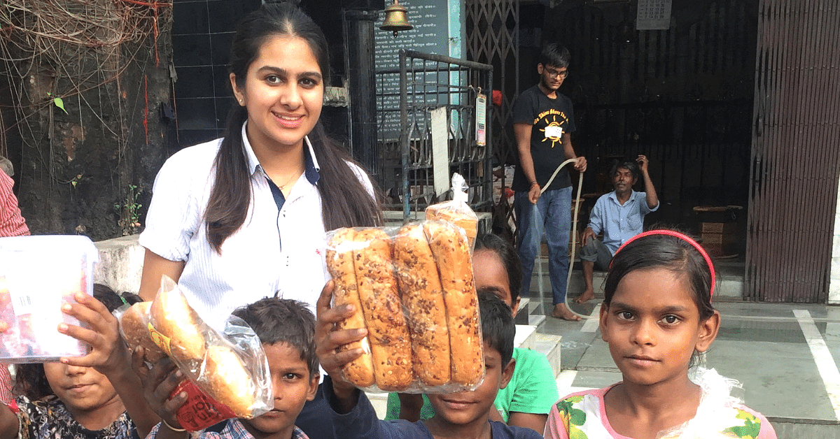 This 16-Year-Old Delhi Girl's Initiative is Feeding Over 350 People Each Week!