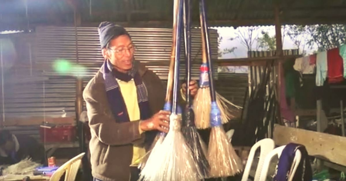 Govt Officer Helps 10 Manipuri Villages Use Plastic Bottles to Sweep Out Pollution!