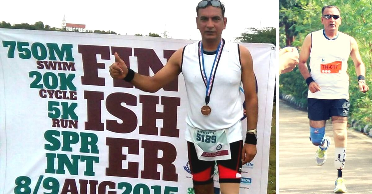 A Mine Took His Leg, But This Army Hero Now Runs Triathlons & Trains Others!