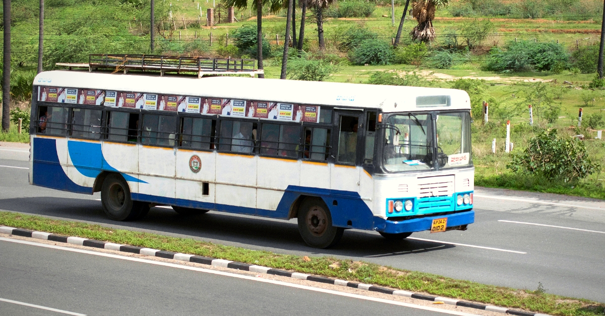 Telangana Bus Driver Suffers Heart Attack, Still Ensures Safety of 50 Passengers