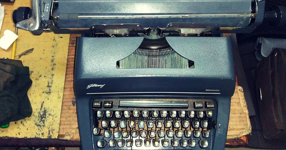 #IconsOfIndia: An Unforgettable Typewriter That Became A Symbol of Modern India