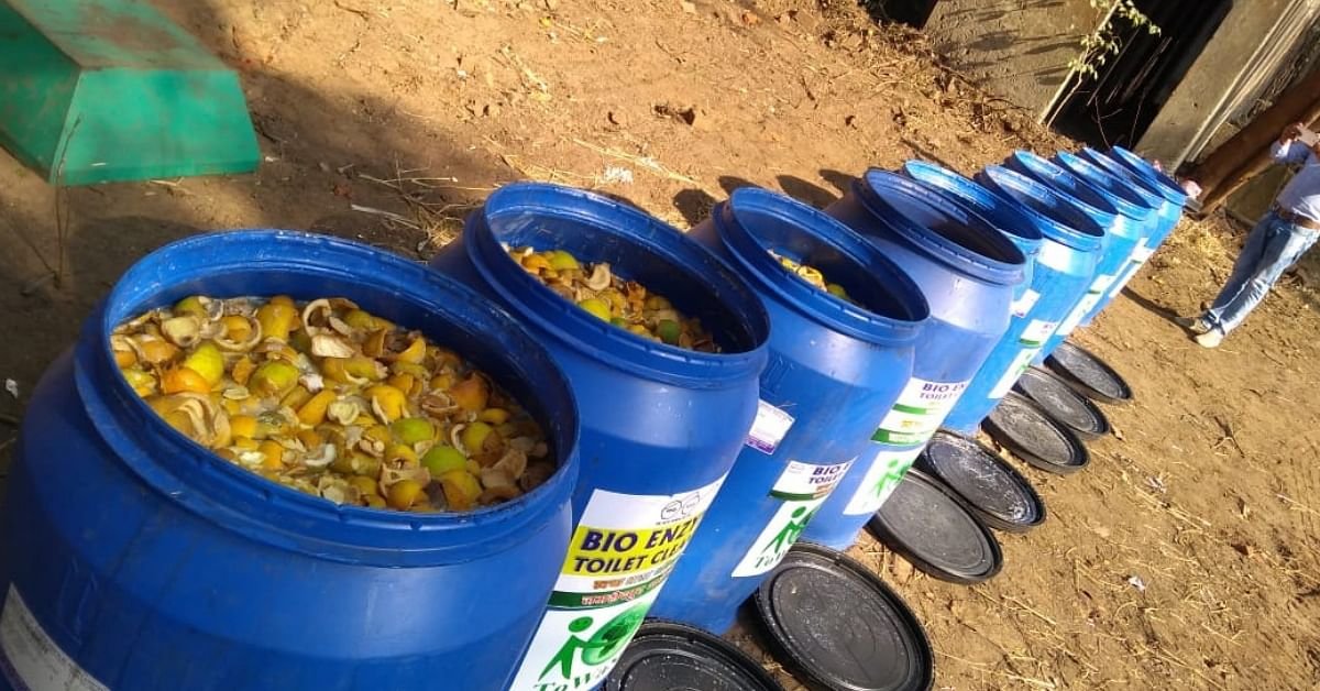 Orange Peels Keep Toilets Clean: Jharkhand Man Invents Eco-Friendly Solution