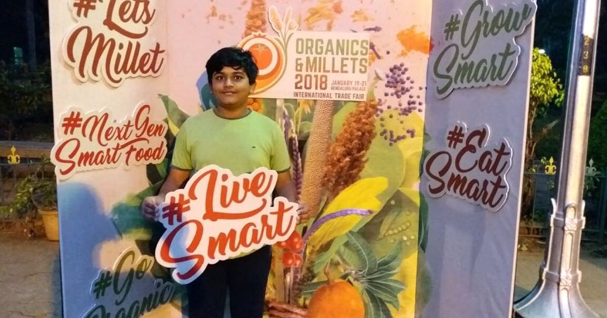 This 15-YO Boy's Millet YouTube Videos Will Make You Healthy While Helping Farmers
