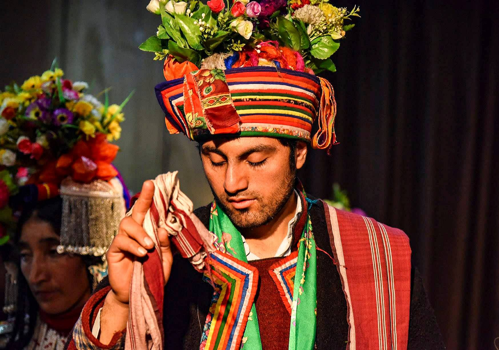 Brokpa man in traditional gear. (Source: Facebook/Ranjan Engticode)