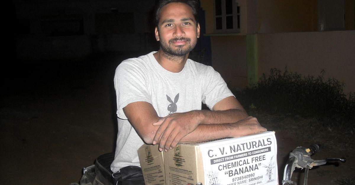 Meet The Engineer-Farmer Earning Lakhs With Organic Bananas, Sugarcane & WhatsApp