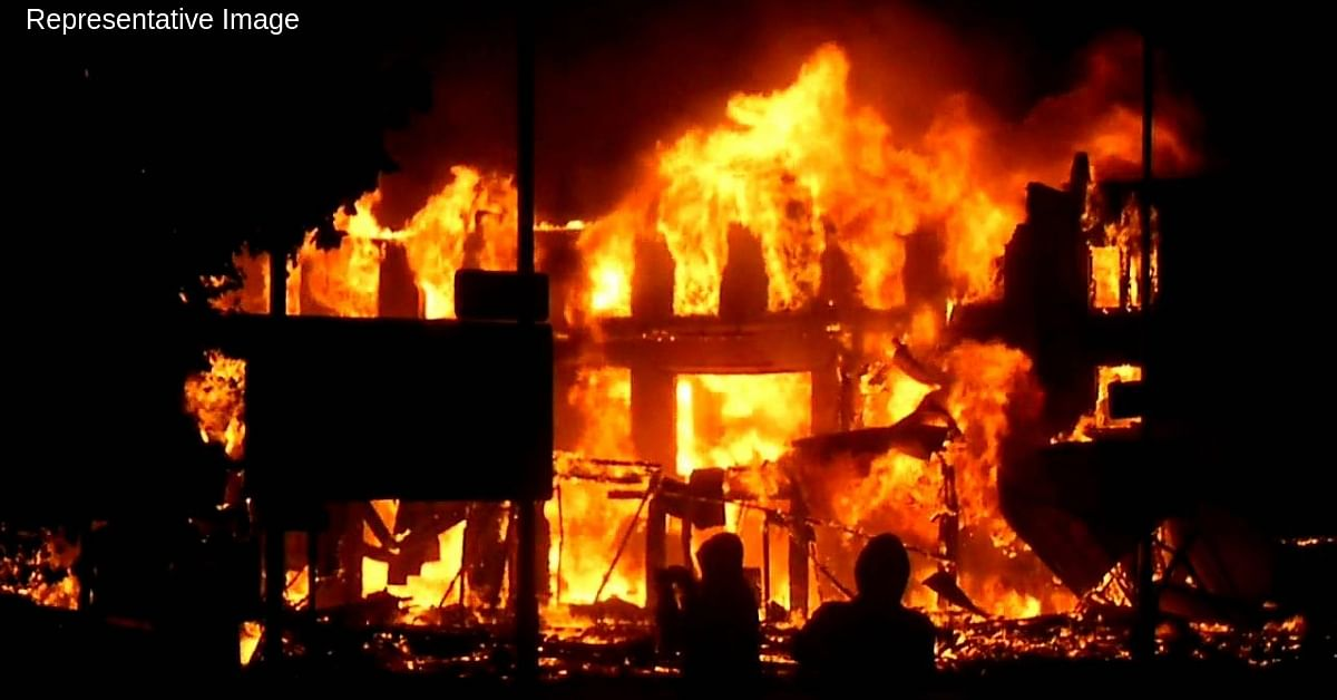 Ghaziabad Fire: Pregnant Mom Rescues Her 4 Kids Before Succumbing to the Blaze