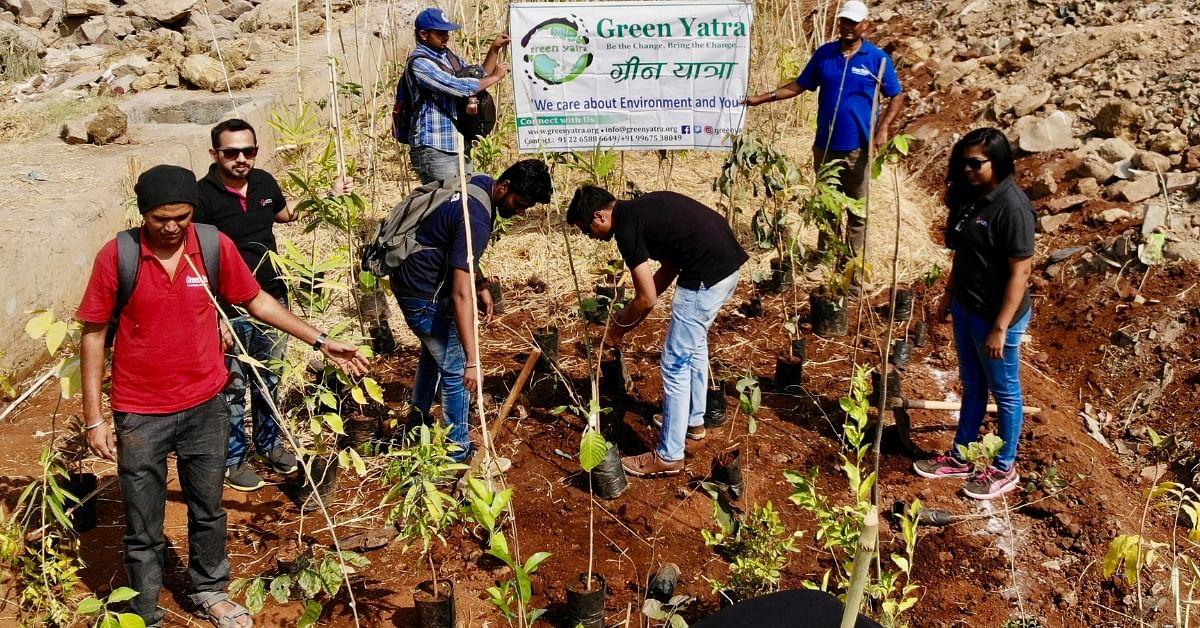 Mumbai tree planting Miyawaki forest city green cover