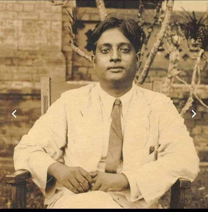 Satyendra Nath Bose (Source: Twitter)