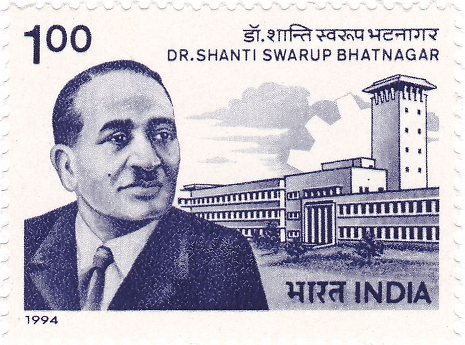 Shanti Swarup Bhatnagar (Source: Wikimedia Commons)