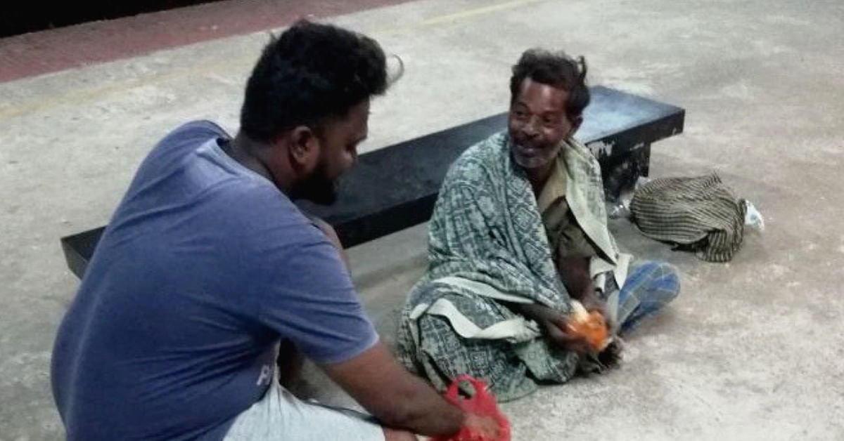 Heartbroken by Hungry Beggar's Death, Chennai Couple Feeds 70+ Homeless People Daily!
